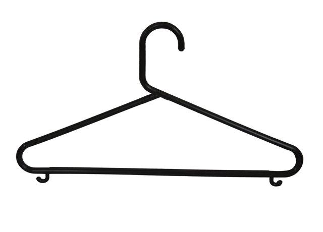 Plastové ramínko na šaty s příčkou P10