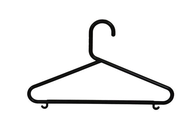 Plastové ramínko na šaty s příčkou P8