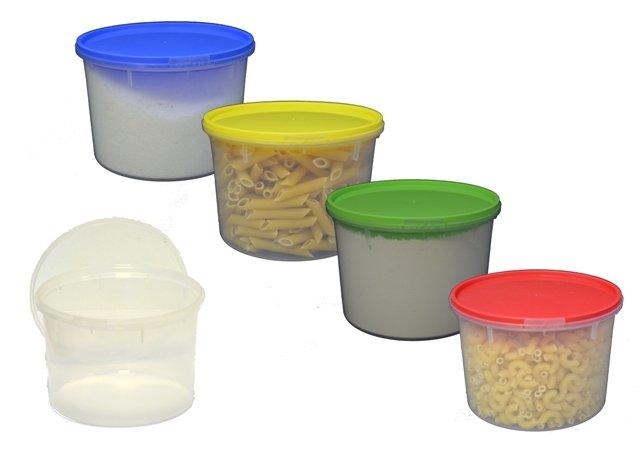 Plastová dóza na potraviny s víkem 1l