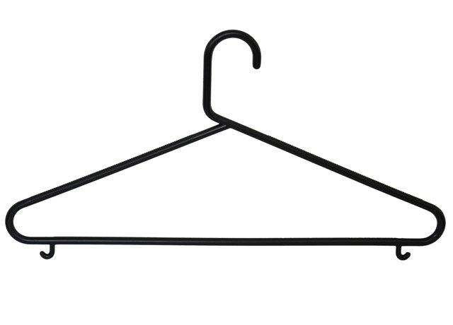Plastové ramínko na šaty s příčkou P6