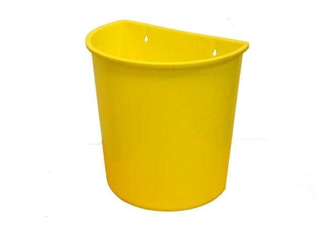 Plastový odpadkový koš závěsný 20 l