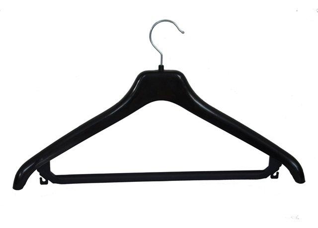 Plastové ramínko na šaty s poutky a příčkou P14