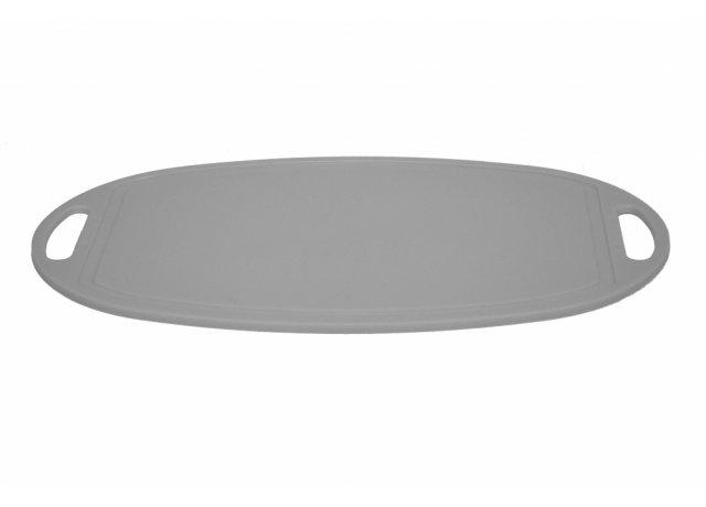Plastové kuchyňské prkénko krájecí 41x26 cm oválné