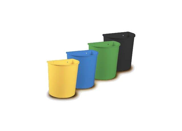 Plastové závěsné koše na třídění odpadu EKOS II, 20l