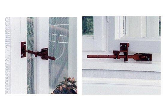 Větrací zarážka do oken